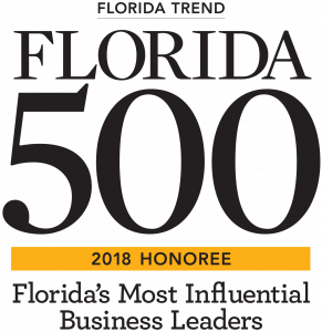 Florida 500 2018 Honoree